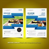 Folheto de negócios Flyer Design