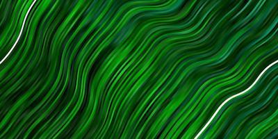 layout de vetor verde escuro com arco circular.