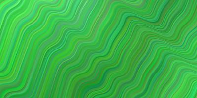 padrão de vetor verde claro com linhas irônicas.