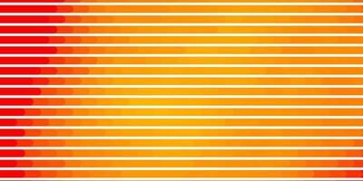 padrão de vetor laranja claro com linhas.