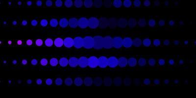 pano de fundo vector rosa escuro, azul com pontos.