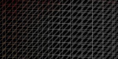 fundo escuro do vetor com linhas.