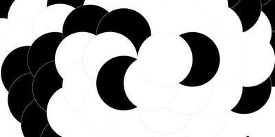 modelo de vetor laranja escuro com círculos.