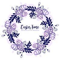 Grinalda de Easter do vetor