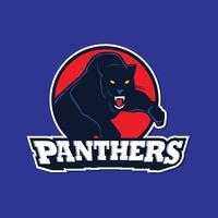 Vector do logotipo da pantera preta