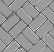 Padrão de fundo de pavimentação de tijolo com tons de cinza vetor