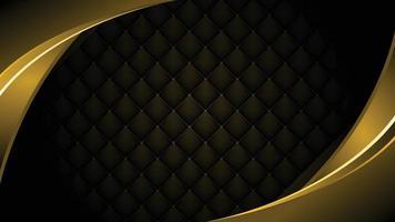 imagem de fundo de diamante negro organizada repetidamente em padrões. vetor