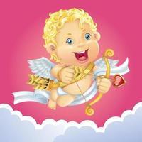 anjo cupido fofo