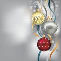 fundo de modelos de decoração de Natal. ilustração vetorial.