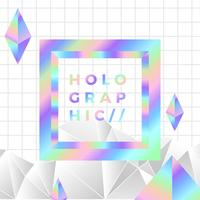 Vector de composição holográfica