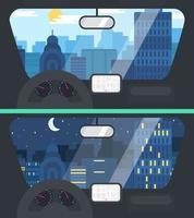 vida na cidade de carro