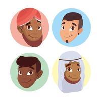 conjunto de jovens, conceito de diversidade