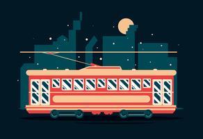 Nova Orleans Streetcar Vector