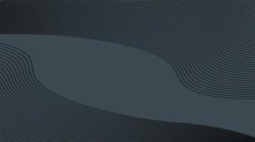 fundo abstrato do vetor. gradientes de onda de linha. modelo de design moderno para web. padrões geométricos futuros