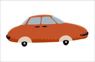 carro de brinquedo, uma ilustração vetorial