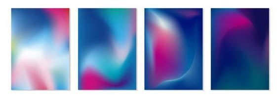 ilustração em vetor fundo fluxo de cor abstrata