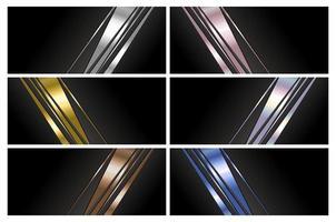 design de fundo abstrato de banner de luxo com ilustração vetorial de espaço de cópia