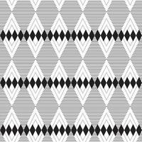triângulo abstrato tira padrão sem emenda