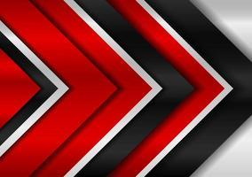 projeto editável abstrato do fundo do metal preto e vermelho