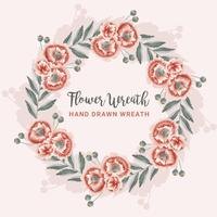 Grinalda Floral vetor