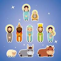 epifania de jesus conjunto de ícones