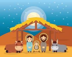 epifania da cena de jesus vetor