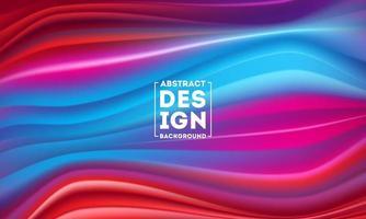 poster moderno fluxo colorido