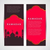 ilustração em vetor ramadan kareem.