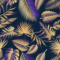 padrão sem emenda tropical.