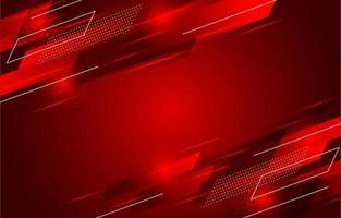 fundo de forma vermelha com efeito de movimento vetor