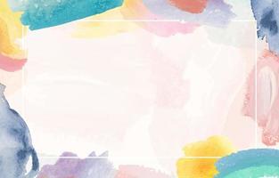 fundo aquarela colorido abstrato vetor