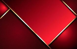 fundo abstrato vermelho elegante vetor