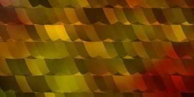 luz de fundo vector multicolor com hexágonos.