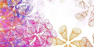 modelo de vetor rosa, amarelo claro com linhas.