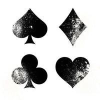 baralho de cartas de sinais e símbolos