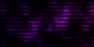 fundo de vetor rosa escuro, azul com círculos.
