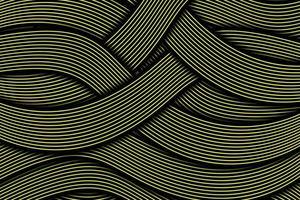 abstrato dinâmico linha ondulada fundo colorido vetor