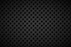 fundo metálico preto perfurado. ilustração vetorial abstrata de aço inoxidável vetor