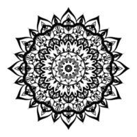 design de mandala de luxo vetor