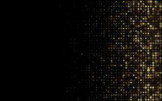 fundo luxuoso com glitter dourado vetor