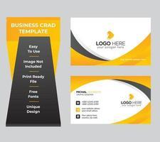 cartão de visita para negócios e uso pessoal vetor
