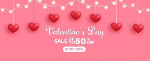 banner de venda do dia dos namorados. vetor