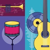 pôster do festival de música