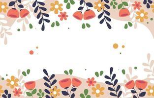 fundo floral liso colorido