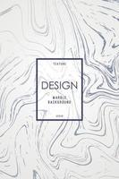 modelo de design de mármore para convite vetor