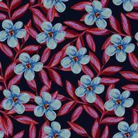 padrão de flor de primavera