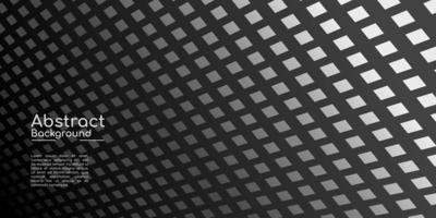 fundo decorativo abstrato, textura escura geométrica vetor