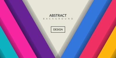 retângulo geométrico abstrato moderno fundo colorido
