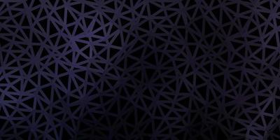 padrão poligonal de vetor cinza escuro.