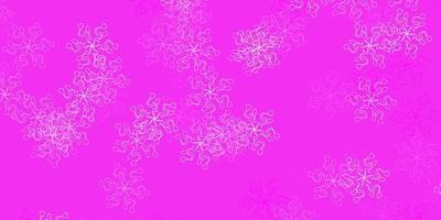 layout natural do vetor roxo e rosa claro com flores.